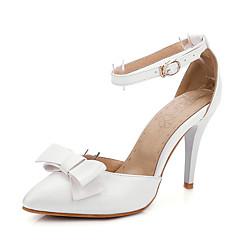 Women's Shoes Stiletto Heel Pointed Toe Sandals Wedding / Party & Evening / Dress Blue / Pink / White