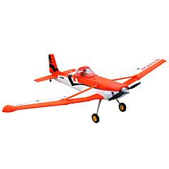Dynam Cessna 188 1:8 Brushless Eléctrico 50KM/H Quadcopter RC 4ch 2.4G EPO Orange&Blue Necesita Un Poco de Ensamblaje
