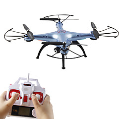 SYMA X5HC dar 6 as 4-kanaals 2.4G RC Quadcopter LED-verlichting / Headless-modus / 360 graden flip tijdens vlucht
