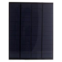 5.5w 12v pet laminierte polykristallinem Silizium Solarpanel Solarzelle für DIY (sw5512)