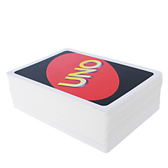 uno Kartenspiel Super gepolsterte 4 Farbe uno Spielkarte Spaß Spiele Partei Unterhaltung Karte Spielzeug