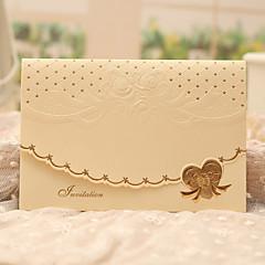 Tri preklopa Vjenčanje Pozivnice 50-Pozivnice Classic Style Papir bisernog sjaja