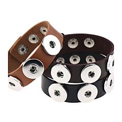 Bracelet Chaînes & Bracelets / Charmes pour Bracelets / Bracelets en cuir / Loom Bracelet Alliage / Cuir Forme RondeBohemia style / Style