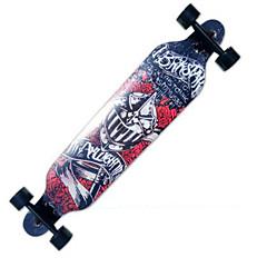 Longboards Skate Profissional 40 polegadasVermelho Azul Verde