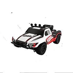 Buggy (fuoristrada) PX 9301 1:18 Elettrico senza spazzola RC Auto 50KM 4 canali 2.4G Bianco / Rosso Pronto all'uso