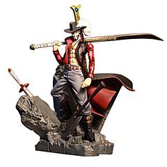 One Piece Dracula Mihawk PVC 15CM Anime Action Figurer Modell Leker Doll Toy
