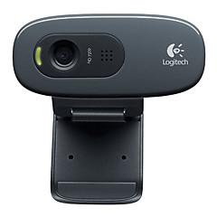 Logitech® C270 desktop bærbare hjemme hd webkamera med mikrofon