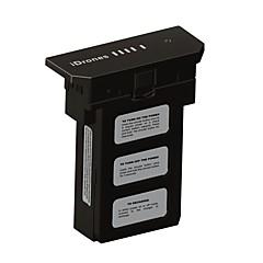 일반 IDrones 배터리 / 부품 액세서리 드론 블랙 ABS 재질