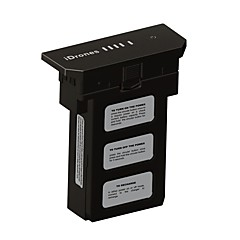Generell IDrones Batteri / deler Tilbehør Drones Svart ABS