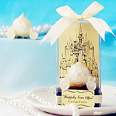 Bridesmaids / Bachelorette - Recipient Gifts - Cinderella Carriage Tealight Wedding décor, Candle Holder Bridal Favors