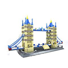 Ajándék Építőkockák Építő játékok Kastély ABS Kristály Játékok