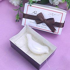 nydelig due scented såpe bryllup favør