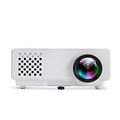 810 LCD WVGA (800x480) Proyector,LED 400Lumens Mini Proyector
