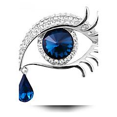 Femme Broche Mode Personnalisé bijoux de fantaisie Cristal Bijoux Pour Soirée Quotidien Décontracté