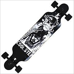 22 tommer (ca. 56cm) Longboards Skateboard Professjonell Kanadisk Maple Svart Rød Grønn Stjerne