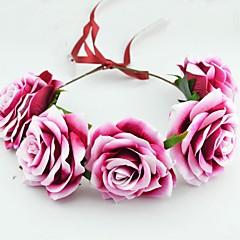 Women's Fabric Headpiece-Wedding / Special Occasion Wreaths 1 Piece