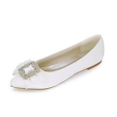 Women's Shoes Satin Spring / Summer / Fall Pointed Toe Flats Wedding / Party & Evening / Dress