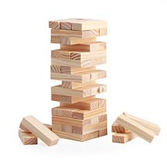 48 Blöcke Mini-Holzstapel& Tumble Turm Blöcke Spiel