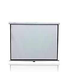 120 인치 4 3 수동으로 프로젝터 화면 홈의 HD 프로젝터 스크린 휴대용 손을 잠 그려면