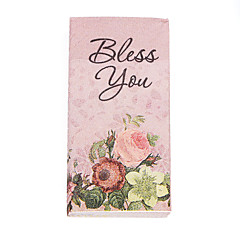 100% virgin pulp 50pcs BLESS YOU Wedding Napkins