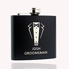 Marié / Fille d'honneur / Groom / Couple / Parents Cadeaux Piece / Set Flasque Classique / ModerneMariage / Célébration / Anniversaire /