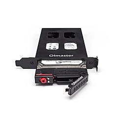 oimaster Fall Festplattenbox von pci einzelne Schale / Platte von einer Festplatte Box zufällige Farbe Einbau-