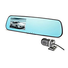 Any E Line X3 Rear View Mirror Drive Recorder Night Vision Wide Angle Monitoring Car Reversing HD
