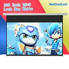 redgoldleaf 100 дюймов 16/9 замок тянуть вниз экрана проектора