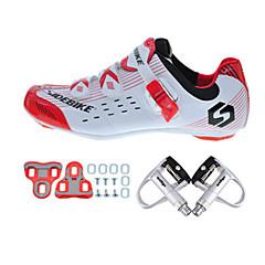 BOODUN/SIDEBIKE® Utcai kerékpár cipők Kerékpáros cipők pedállal és csattal Uniszex Párnázás Treking bicikli Kerékpározás