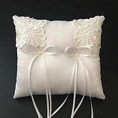 Белый 1 Тесьма Искусственный жемчуг Вышивка Атлас