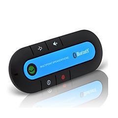 Kit de Coche Bluetooth inalámbrico bluetooth kit de manos libres para automóvil magnética delgada aux altavoz del teléfono visera clip de
