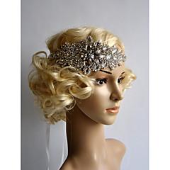Mujer Diamantes Sintéticos Celada-Boda Flores 1 Pieza