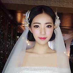 Vrouwen Licht Metaal Helm-Bruiloft Speciale gelegenheden Baret 1 Stuk