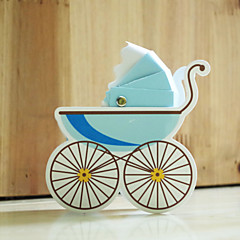 Gift 12 Piece/Set Baby carriage Favor Holder-Creative Card Paper Favor Boxes / Cookie Bags / Gift Boxes