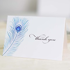 Não personalizado Dobrado no Topo Convites de casamentoCartões de convite / Cartões de Obrigado / Cartões de resposta / Amostra de