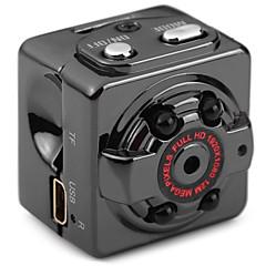 Metal Mini Camcorder 720P 1080P Negro