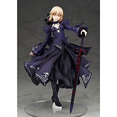 Anime Toimintahahmot Innoittamana Fate/stay night Saber PVC 22 CM Malli lelut Doll Toy