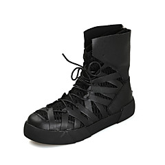 Men's Chukka Boots High Top Skate Sneakers Athletic Casual Outdoor Sport Winter Shoes Black Red Gold