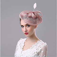 Women's Flax Headpiece-Wedding Special Occasion Hair Clip 1 Piece