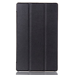 タブレットケースa8-50fレノボタブ2 a8-50ためのレノボのタブ3 8.0タブ3-850f /メートルの革保護カバーfundaのためKSTケース
