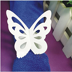 Lepenkový papír Svatební Ubrousky-10 Piece / Set Kroužky na ubrousky
