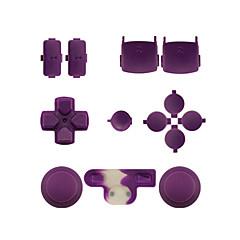 Контроллер замена комплект кейс сборка комплект для PS3 контроллер оранжевый / фиолетовый / розовый