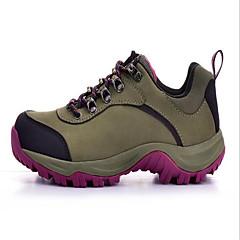 Tênis de Caminhada / Sapatos Casuais / Sapatos de Montanhismo Unisexo Anti-Escorregar / Anti-Shake / Anti-desgaste / Respirável Pele Real