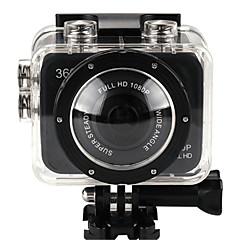 X360WIFI מצלמה בסגנון / מצלמת פעולה 14MP 2048 x 1536 WIFI / ניתן להתאמה / Wireless / זויית רחבה 30fps 4X ± 2EV 2 CMOS 32 GB H.264