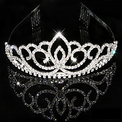 Femme Strass Cristal Casque-Mariage Occasion spéciale Tiare