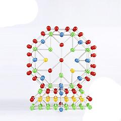 Jouets Aimantés 36 Pièces 3 MM Jouets Aimantés Blocs de Construction Jouet Educatif Gadgets de Bureau Casse-tête Cube Pour cadeau