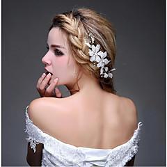 Mulheres Strass / Liga Capacete-Casamento / Ocasião Especial / Casual / Ao ar LivreBandanas / Pentes de Cabelo / Flores / Cabelo da vara