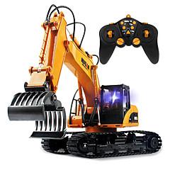 Puxa-Saco 1:12 RC Car 2.4G Amarelo Pronto a usarCarro de controle remoto / Controle Remoto/Transmissor / Carregador de Bateria / Bateria