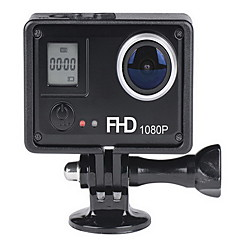 Actiecamera / Sportcamera 12MP 8MP 5MP 640 x 480 1024 x 768 WIFI Draadloos Multifunctioneel 1.5 2Enkele opname Burstmodus