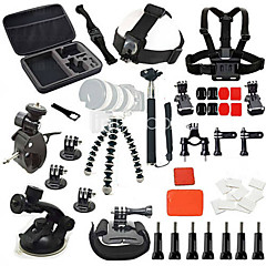 Accessories For GoPro Anti-Fog Insert Monopod Tripod Buoy Suction Cup Straps Clip Flex Clamp Wrenches Accessory Kit Mount/Holder